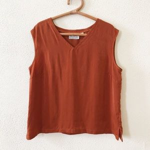 NWOT Linea by Louis Dell'Olio Blouse L